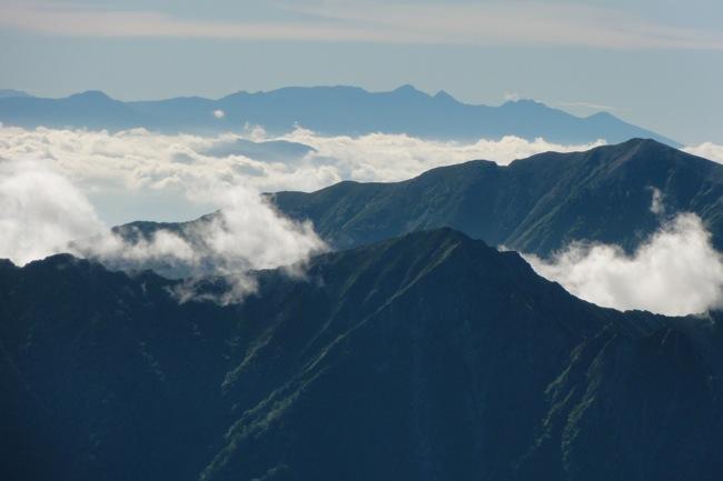 剱岳山頂の景色3