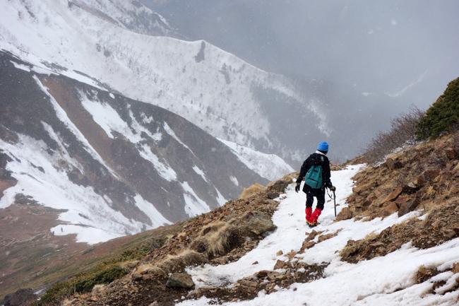 GW八ヶ岳赤岳残雪-40