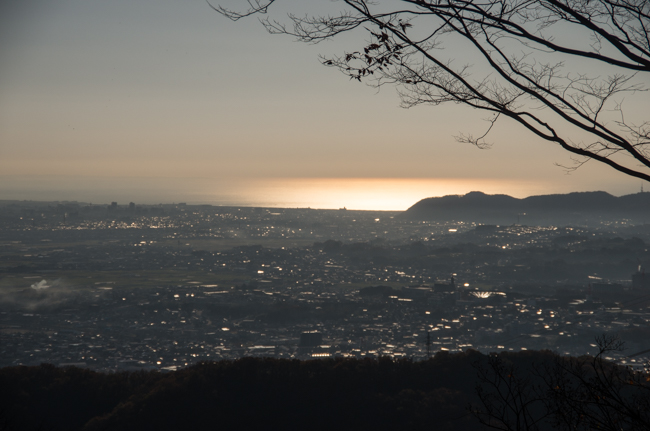 秦野弘法山から大山-19