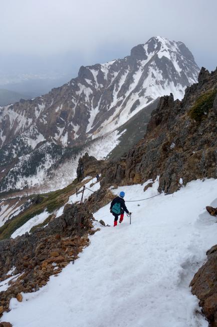 GW八ヶ岳赤岳残雪-39