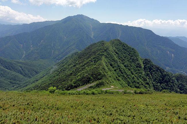甲斐駒山頂-15
