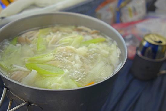 2013北岳山荘の食事