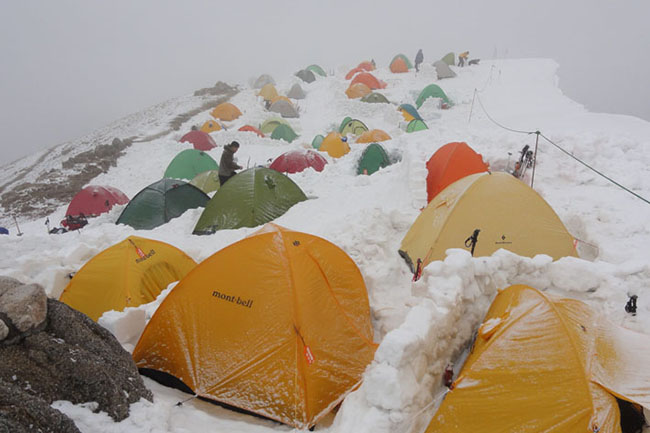燕岳テントGW2011