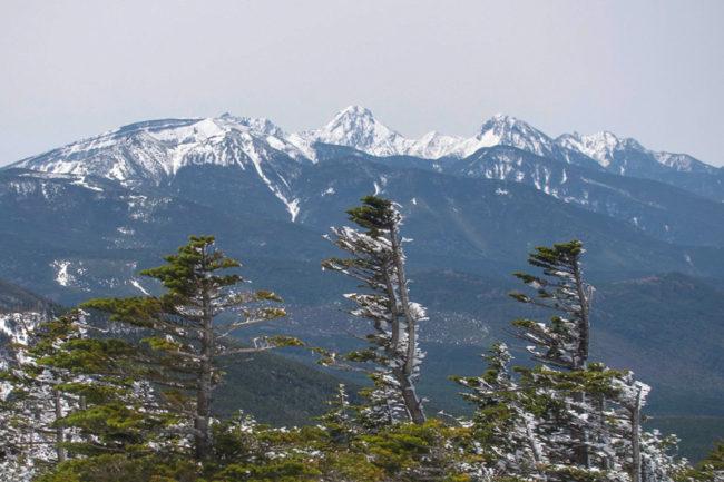 茶臼山〜縞枯山〜北横岳 GW残雪の北八ヶ岳