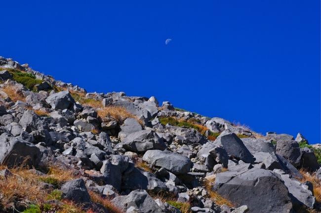 1210乗鞍岳登山道2