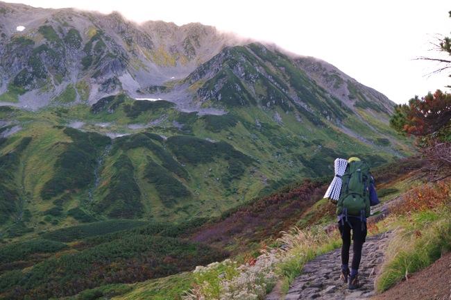 立山・劔岳 テント泊縦走 DAY3 雷鳥沢キャンプ~室堂