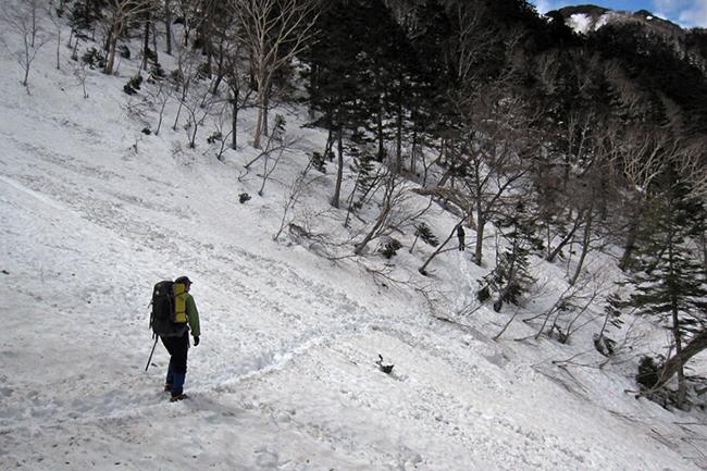 蝶ヶ岳GW-2