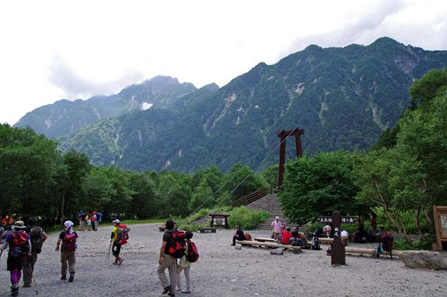 槍ヶ岳登山-28