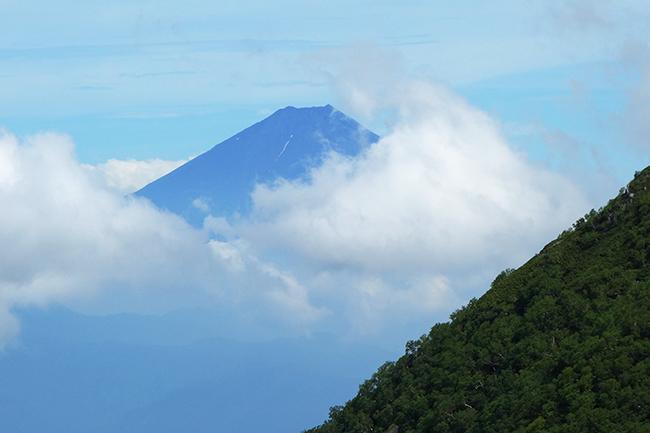 地蔵岳から富士1507