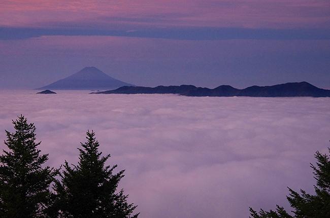 雲取山 富士山1410