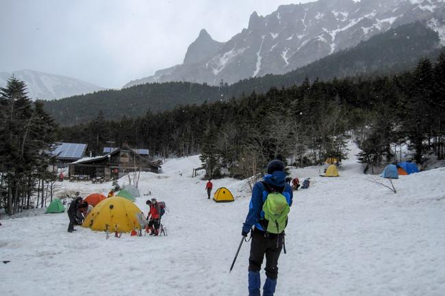 GW八ヶ岳赤岳残雪-6
