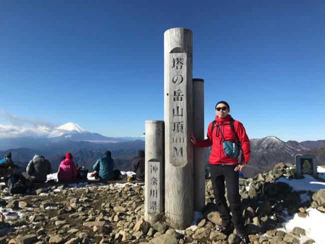 年末の鍋割山〜塔ノ岳 大倉から周回コース