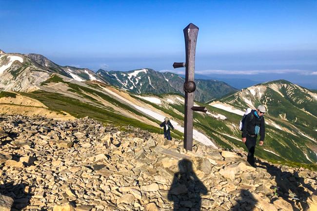 白馬岳テント泊20180805R-7