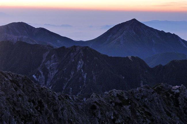 槍ヶ岳登山-5