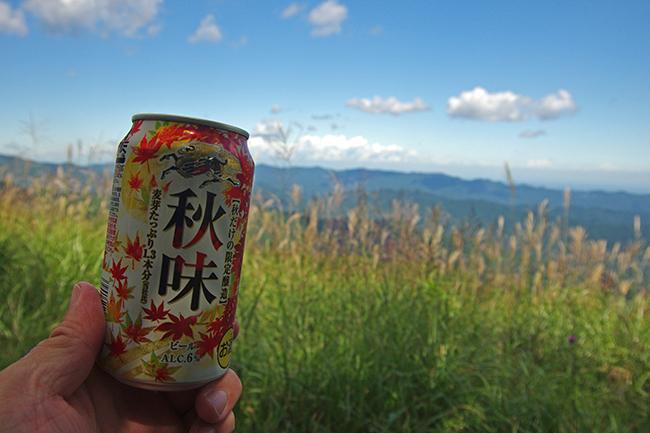 秋味 棒ノ折山山頂