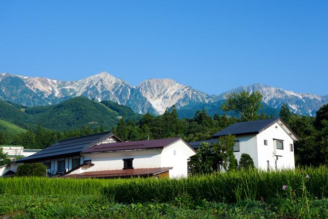 白馬岳テント泊201808