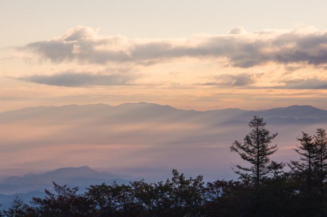 安達太良山紅葉10月