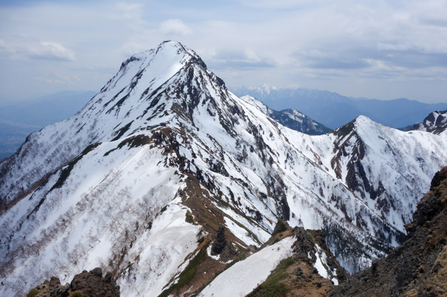 GW八ヶ岳赤岳残雪-33