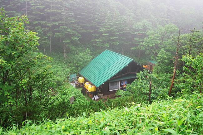 焼岳小屋1507