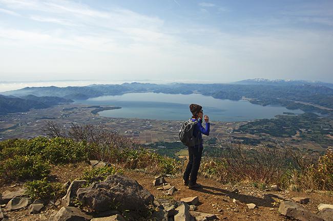 磐梯山山頂1505