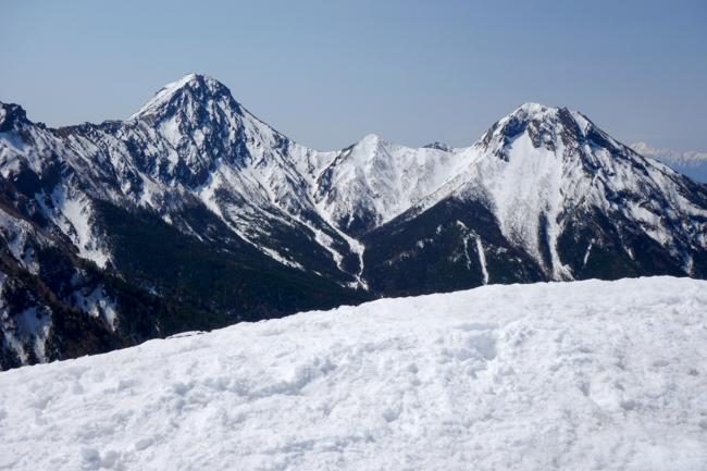GW八ヶ岳赤岳残雪-16