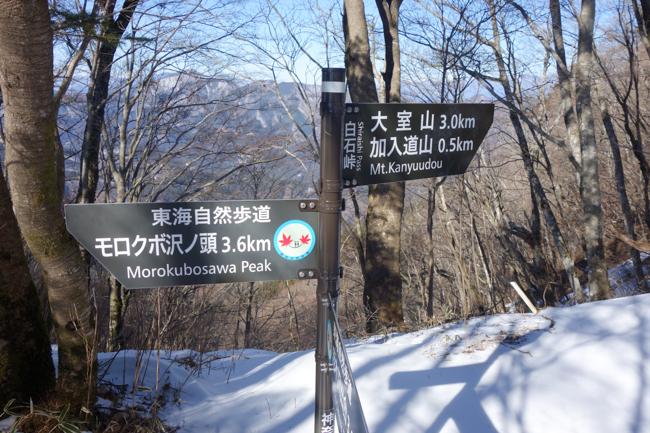 西丹沢大室山の冬-9