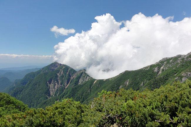 甲斐駒山頂-16
