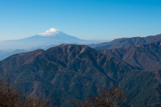 秦野弘法山から大山-29