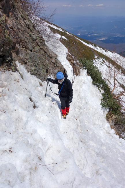 GW八ヶ岳赤岳残雪-29