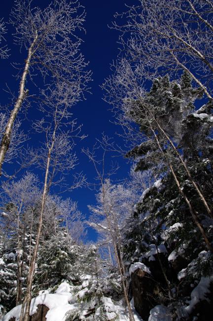 蓼科山12月冬-12