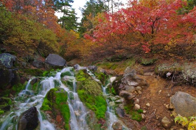1210乗鞍岳 滝