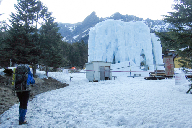GW八ヶ岳赤岳残雪-2