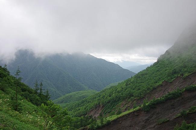 焼岳霞沢岳1507