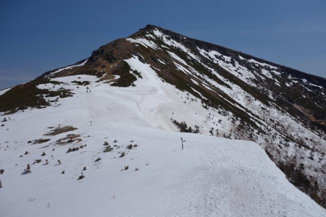 GW八ヶ岳赤岳残雪-18
