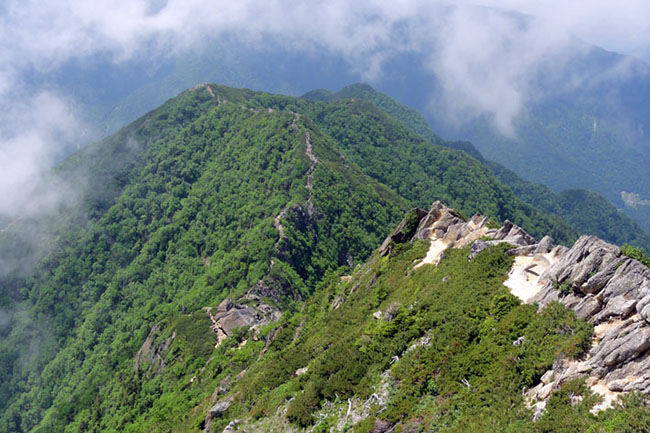甲斐駒山頂-17