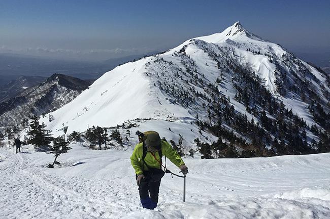 雪の上州武尊山 日帰り登山(川場スキー場からピストン)