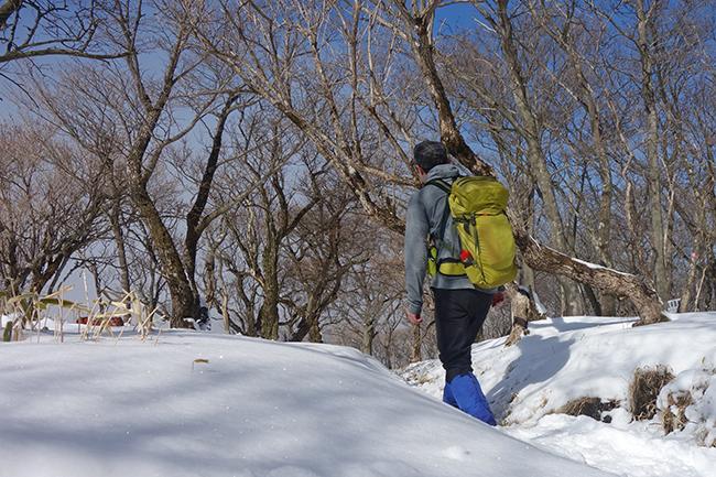 1502丹沢表尾根 積雪