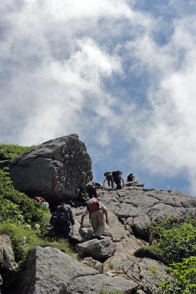 甲斐駒山頂-2