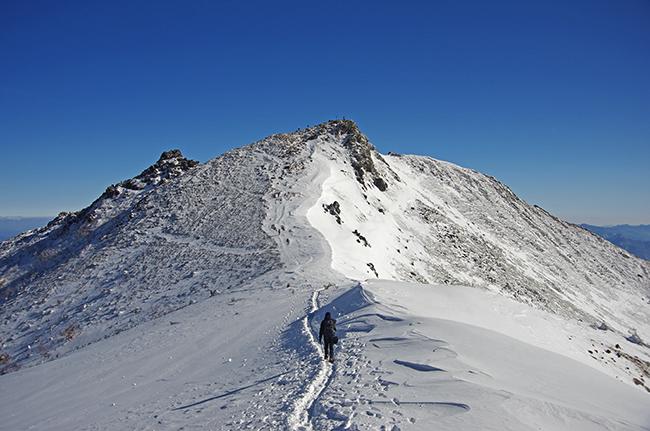 冬の天狗岳 山頂からの絶景!渋の湯から日帰り登山