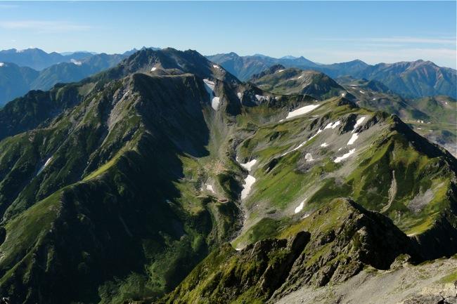 剱岳山頂の景色2