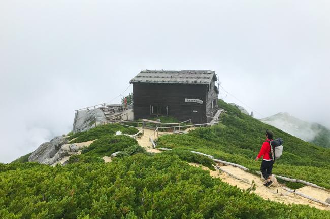 木曽駒〜空木岳縦走テント-42