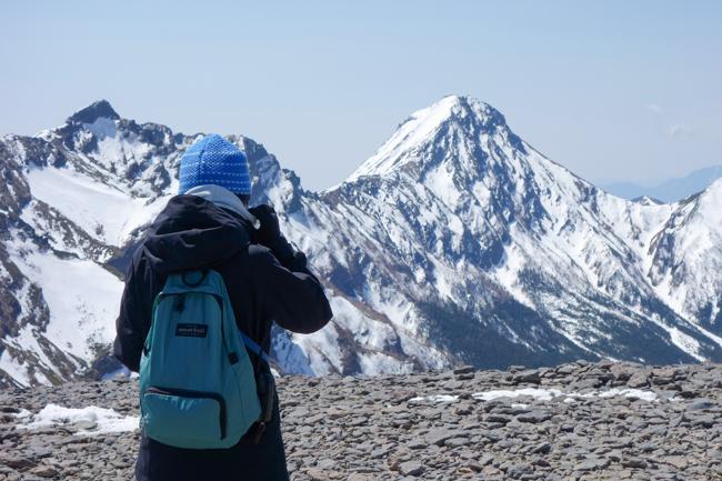 GW八ヶ岳赤岳残雪-20