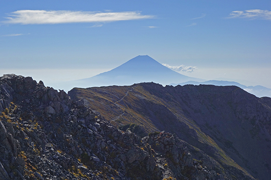2013農鳥岳山頂-5