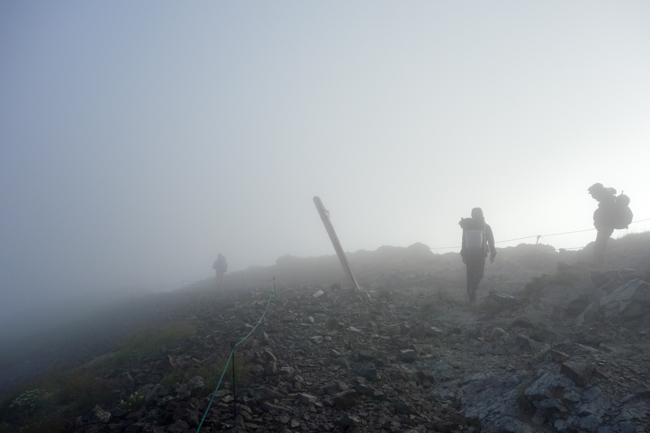白馬岳テント泊20180805-3