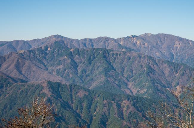 秦野弘法山から大山-32