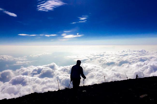 富士山 6月の富士宮ルート〜御殿場ルート周回