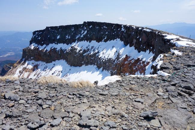GW八ヶ岳赤岳残雪-21