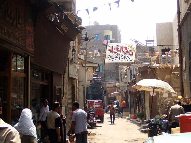 イスラム地区の裏路地